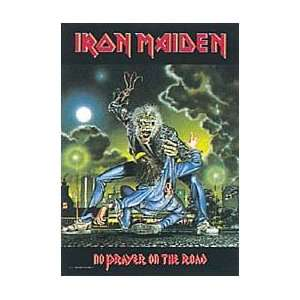 Iron Maiden No Prayer Cloth Fabric Poster Flag