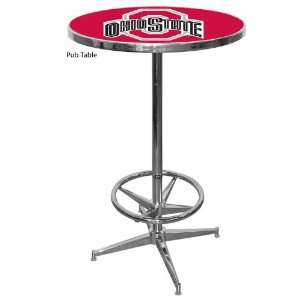 NCAA Ohio State University Buckeyes Pub Table