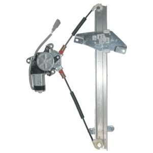 Toyota Front Power Window Regulator with Motor Passenger