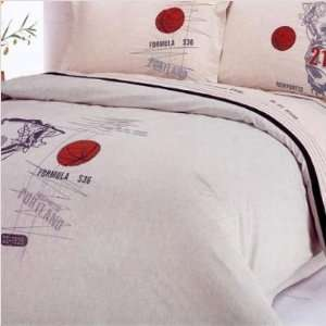 Duvet Cover Bed in Bag   Full / Queen Bedding Gift Set   LE131Q Home