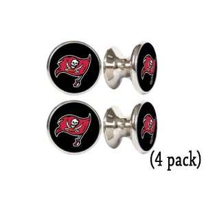 Tampa Bay Buccaneers NFL Stainless Steel Cabinet Knobs / Drawer Pulls