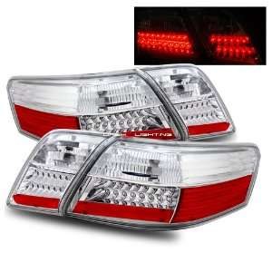 07 10 Toyota Camry LED Tail Lights   Chrome Automotive