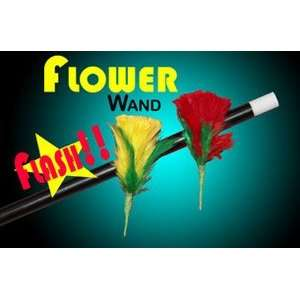 Flower Wand Production Magic Trick Stage Close Up