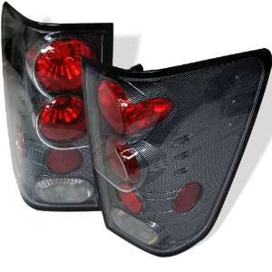 Nissan Titan 04 06 Altezza Tail Lights   Carbon Fiber