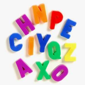 Magnetic Letters   Uppercase Toys & Games