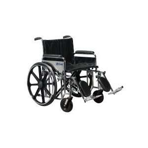 Drive Medical Sentra Heavy Duty Wheelchair 20 Wide x 18
