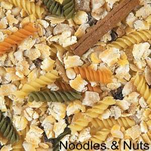 Crazy Corn Cooked Bird Food Noodles Nuts 12oz Pet