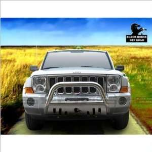 Black Horse Stainless Steel Bull Bar 06 10 Jeep Commander