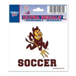 ARIZONA STATE SUN DEVILS 3X4 ULTRA DECAL WINDOW CLING