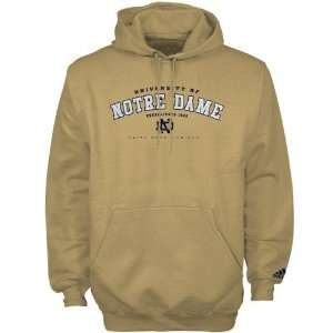Adidas Notre Dame Fighting Irish Gold Ambush Hoody