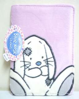 MY BLUE NOSE FRIENDS BLOSSOM THE RABBIT PLUSH PASSPORT COVER NEW GIFT