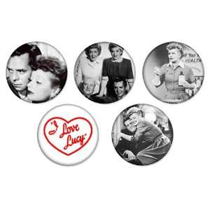 LUCY 1.25 Magnets SET #2 Lucille Ball / Desi Arnaz