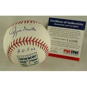 Ozzie Smith Signed Ball   HOF * * PSA DNA   Autographed Baseballs