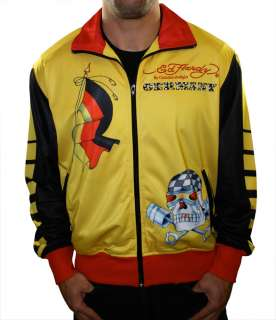 Christian Audigier Germany World Cup Mens Track Jacket Shirt Coat Top