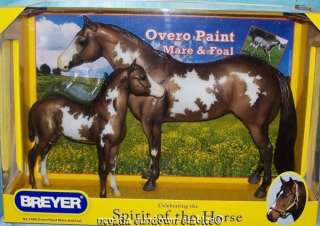 Breyer Model Horses Newest Overo Paint Mare and Foal
