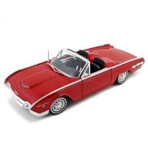 1962 Ford Thunderbird Diecast Car Model 1/18 Convertible