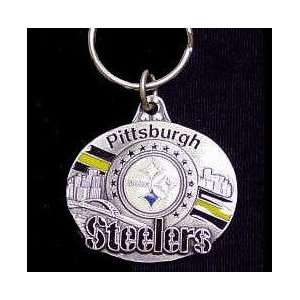 NFL Design Key Ring   Pittsburgh Steelers Sports