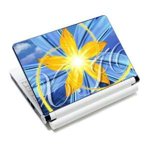 Flower Moves Laptop Notebook Protective Skin Cover Sticker